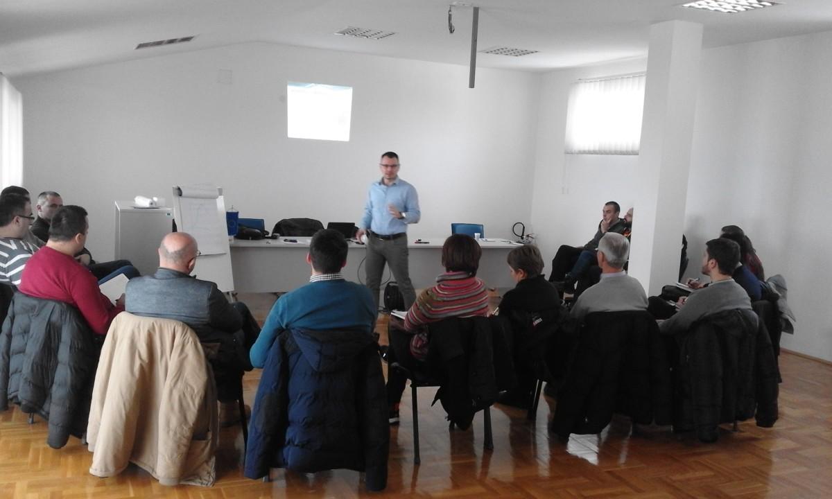Trening za uposlene Regionalnog biznis centra Berane i članove projektnog tima – Trening Modul 1