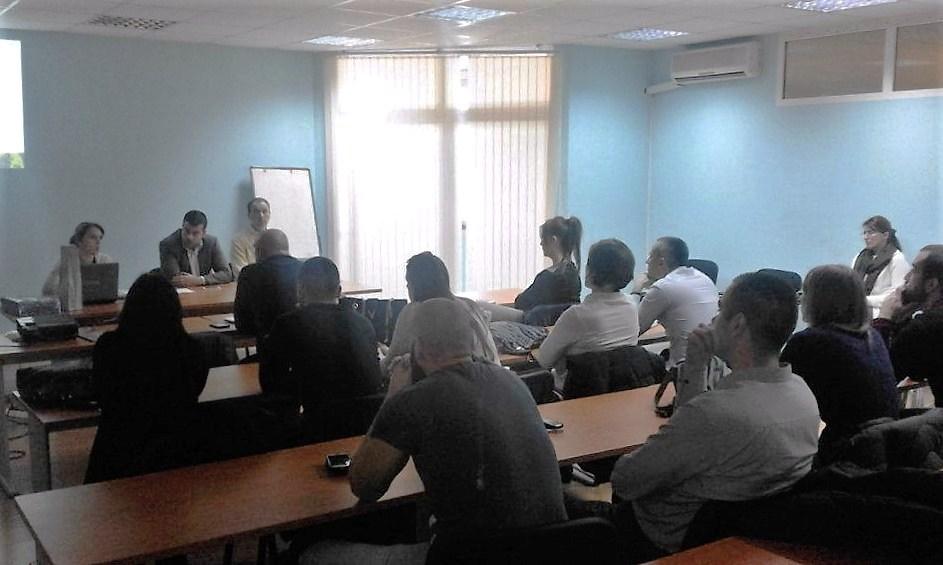 Студијска посјета бизнис центру у Бару
