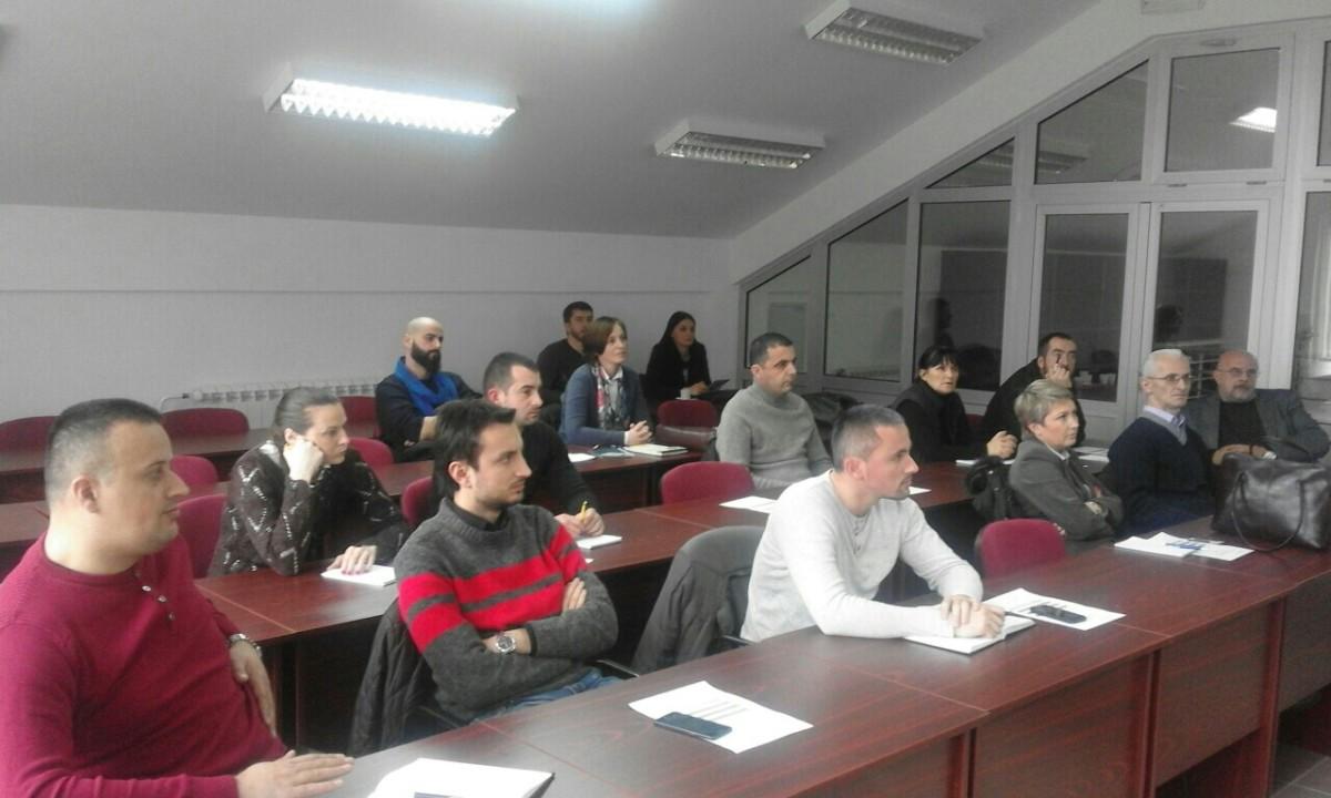 Organizovan Trening modul III za članove projektnog tima i uposlene u Regionalnom biznis centru u Beranama