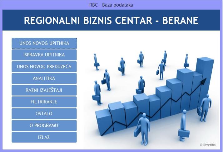 База података Регионалног бизнис центра доступна за преузимање