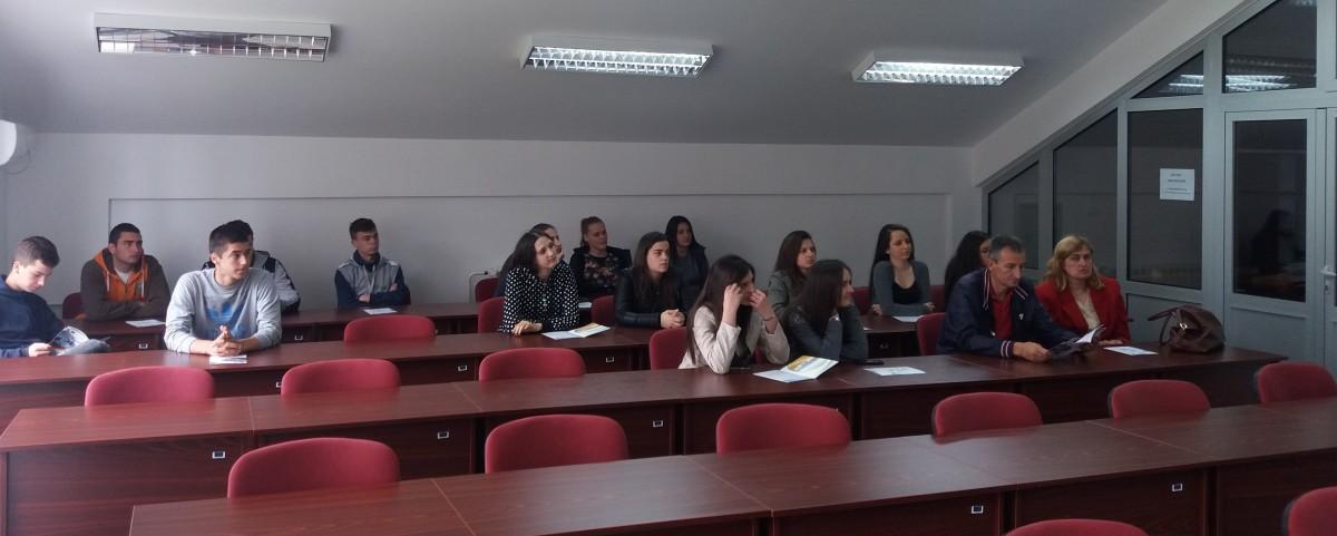 Ученици из Андријевице у посјети РБЦ