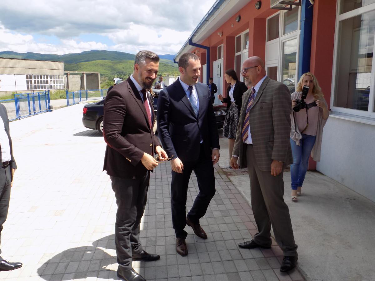 Министар европских послова Александар Пејовић и предсједник општине Беране у посјети РБЦ